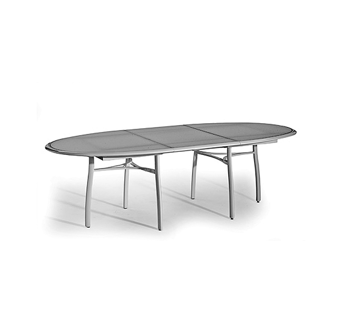 Premiere oval dining table with extension leaf