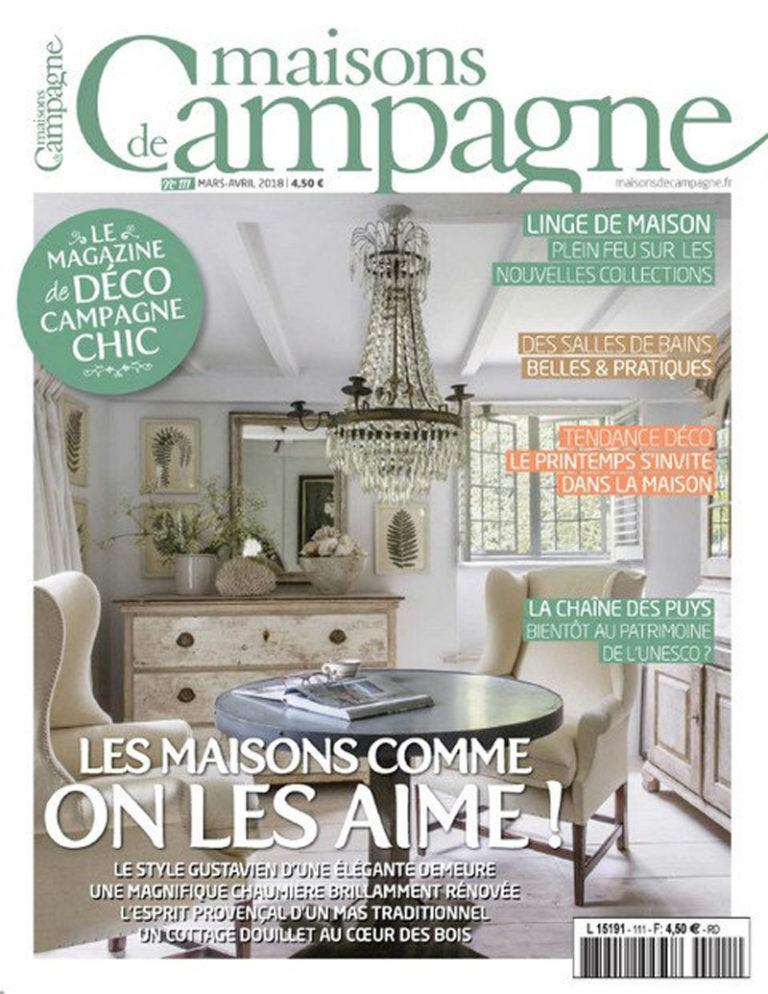 Maison de campagne March-April 2018