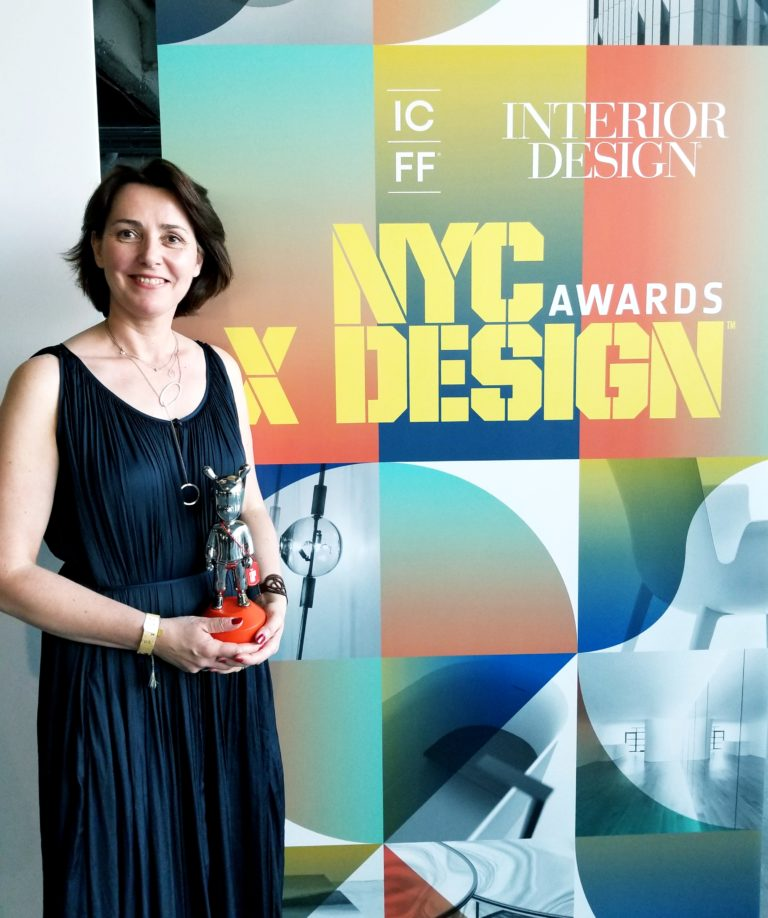 Our Nested Cabins win the NYCxDesign 2018 Award