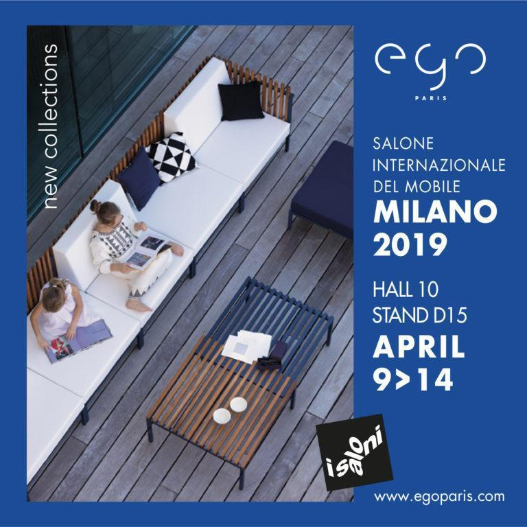 SALONE INTERNAZIONALE DEL MOBILE – MILANO – BOOTH D15 / HALL 10 – 9 >14 APRIL 2019