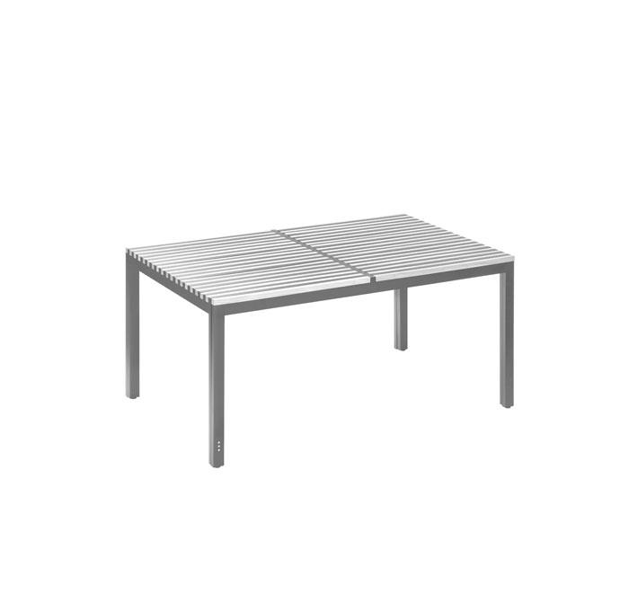 Medium extendable table