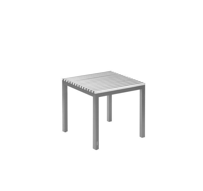 Small extendable table